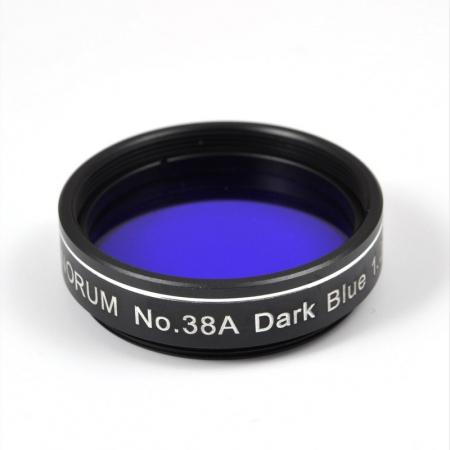 "Filtr Binorum No.38A Dark Blue (Tmavě modrý) 1.25"""
