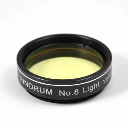 Filtr Binorum  No.8 Light Yellow (Světle žlutý) 1,25″