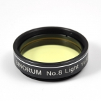"Filtr Binorum  No.8 Light Yellow (Světle žlutý) 1.25"""