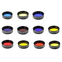 Sada barevných filtrů Binorum 11 kusů 1,25″