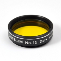 "Filtr Binorum No.15 Dark Yellow (Tmavě žlutý) 1.25"""