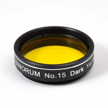 Filtr Binorum No.15 Dark Yellow (Tmavě žlutý) 1,25″