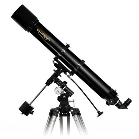 Hvězdářský dalekohled Omegon AC 90/1000 EQ-2