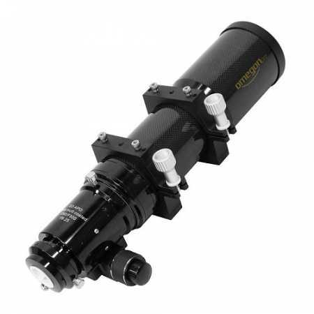 """Hvězdářský dalekohled Omegon AP 80/500 ED Carbon OTA - <span class=""""red"""">Pouze tubus s příslušenstvím, bez montáže, bez stativu</span>"""