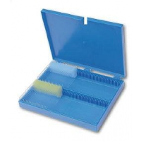 Krabice na podložní skla, pro 100 ks mikroskel 76 x 26 mm