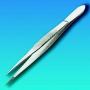 Pinzeta přímá nerezová, špičaté čelisti, 115 mm