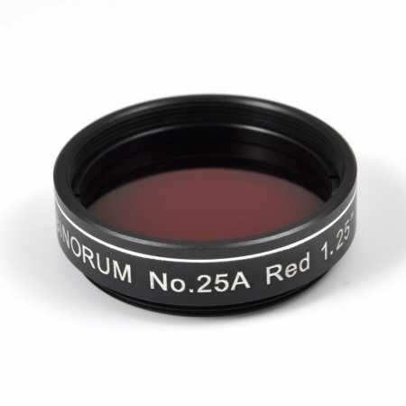 Filtr Binorum No.25A Red (Červený) 1,25″