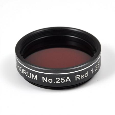 """Filtr Binorum No.25A Red (Červený) 1.25"""""""