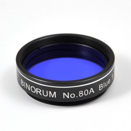Filtr Binorum No.80A Blue (Modrý) 1,25″