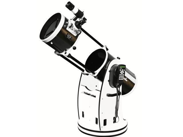"""Hvězdářský dalekohled Sky-Watcher N 254/1200 Dobson 10"""" GoTo + Hledáček 8x50 + Redukce na 1.25"""" + Okuláry 1.25"""" Super 25 a 10mm (zvětšení 48x a 120x)"""