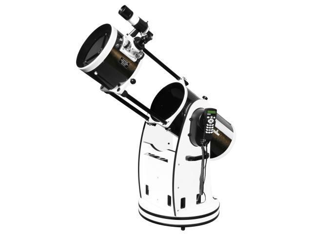 """Hvězdářský dalekohled Sky-Watcher N 200/1200 Dobson 8"""" GoTo + Hledáček 8x50 + Redukce na 1.25"""" + Okuláry 25 a 10mm (zvětšení 48x a 122x)"""