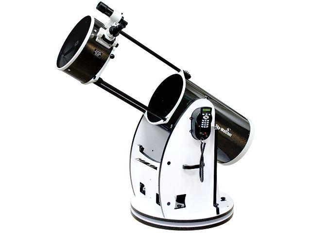 """Hvězdářský dalekohled Sky-Watcher N 355/1650 Dobson 14"""" GoTo + Okuláry 25mm a 10mm, zvětšení 64x, 160x + Hledáček: 8x50 + Redukce na 1.25"""""""