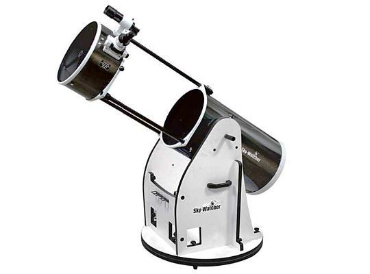 """Hvězdářský dalekohled Sky-Watcher N 355/1650 Dobson 14"""" Flex Tube + Okuláry 25mm a 10mm, zvětšení 64x, 160x + Hledáček: 8x50 + Redukce na 1.25"""""""