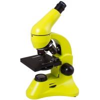 Mikroskop Levenhuk Rainbow 50L PLUS Lime\Limetka 64x-1280x