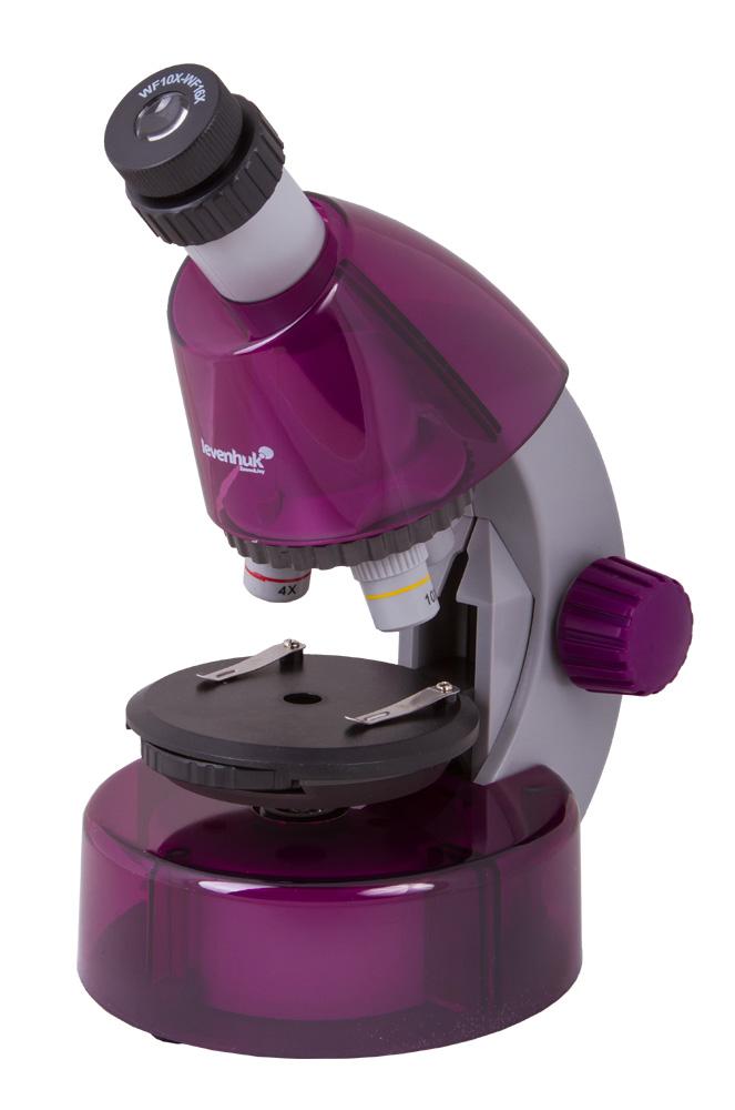 Mikroskop Levenhuk LabZZ M101 Amethyst\Ametyst