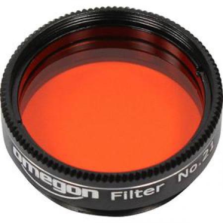 """Filtr Omegon Barevný filtr oranžový 1,25 """""""