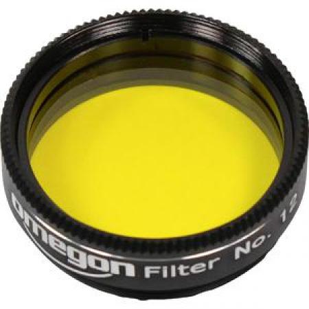 "Filtr Omegon Barevný filtr žlutý 1.25"""