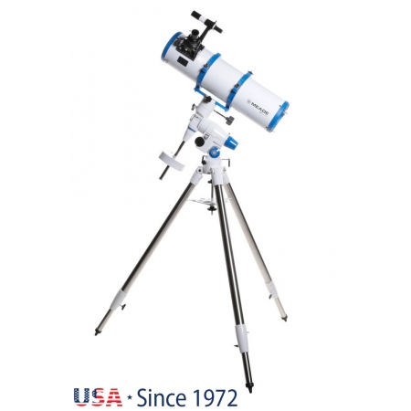Hvězdářský dalekohled Meade 150/750 LX70 R6 EQ