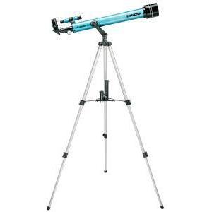 """Hvězdářský dalekohled Tasco AC 60/700 Novice 60 AZ-1 + Okulár 1.25"""" H 25mm + Okulár 1.25"""" H 12,5mm + Okulár 1.25"""" SR 4mm + Hledáček 6x24 + Barlow čočka2x + 1.25"""" 90° diagonální zrcadlo + Měsíční filtr"""