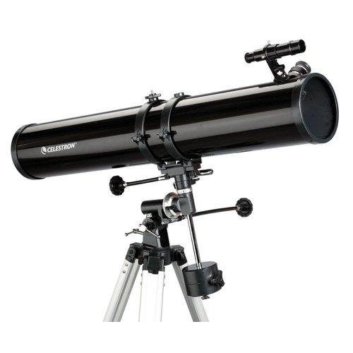"Hvězdářský dalekohled Celestron N 114/900 PowerSeeker 114 EQ + Okulár 1.25"" 20mm + Okulár 1.25"" 4mm + Hledáček 5x24 + Barlow čočka 3x"