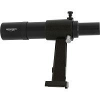 Hledáček Omegon 6x30 finder scope, black - provides an upright, non-reversed image