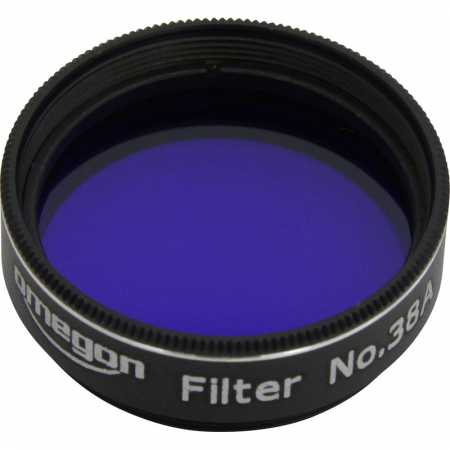 Filtr Omegon #38A 1,25″colour, dark blue