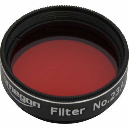 Filtr Omegon #23A 1,25″ colour, light red