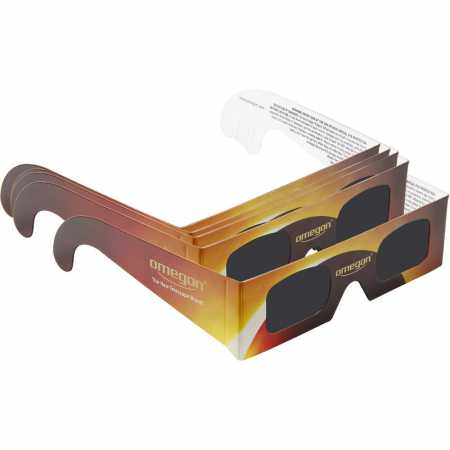 Filtr Omegon SunSafe solar eclipse viewing glasses, 5 pairs