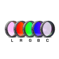 """Filtr Baader Planetarium LRGBC-H-alpha 1.25"""" 35nm, OIII and SII set"""