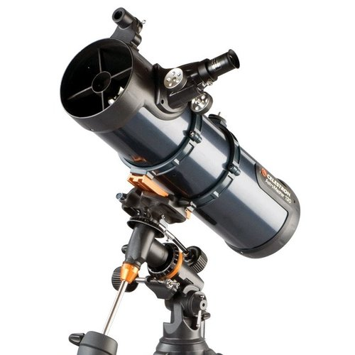 """Hvězdářský dalekohled Celestron N 130/650 Astromaster EQ + 1.25"""" Okulár 20 mm + 1.25"""" Okulár 10 mm + Hledáček StarPointer + CG3 Ekvatoriální montáž + Stativ"""