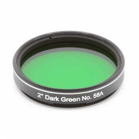 Filtr Explore Scientific Dark Green #58A 2″