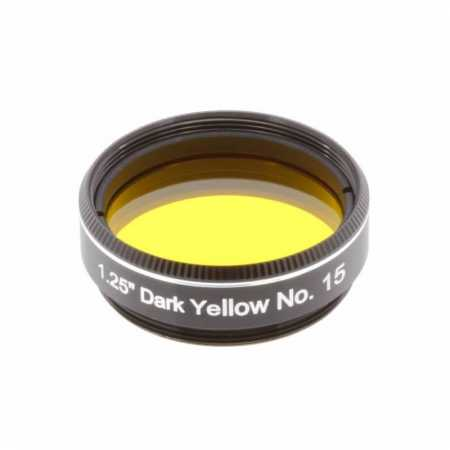 Filtr Explore Scientific Dark Yellow #15 1,25″