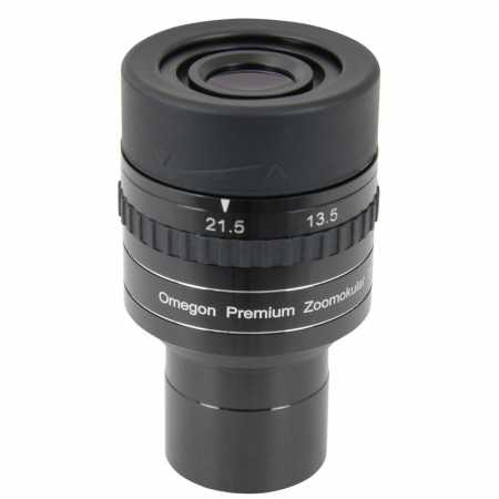 Okulár Omegon Premium 1,25″, 7,2mm - 21,5mm zoom