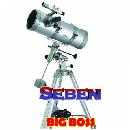 Hvězdářský dalekohled Seben N 150/1400 Big Boss EQ-3