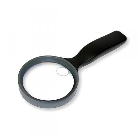 Zvětšovací sklo Carson JS-36 2.5X (90 mm) with handle and 5X spot