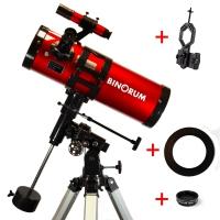 Hvězdářský dalekohled Binorum Evolution 114/500 Deluxe EQ2
