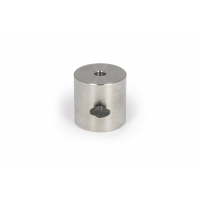 Baader Planetarium 2.5 kg leveling counterweight Ø 75x75mm, made of V2A stainless steel