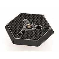 "Manfrotto Hexagonal Assy Plate with 3/8"" screw"