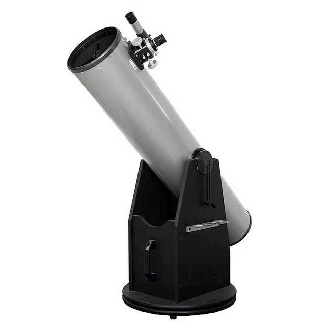 """Hvězdářský dalekohled GSO N 200/1200 Crayford 2"""" Dobson + Okulár Plössl 1.25"""" 25mm + Hledáček 6x30 + Ventilátor pro rychlé vytemperování teploty s okolím"""