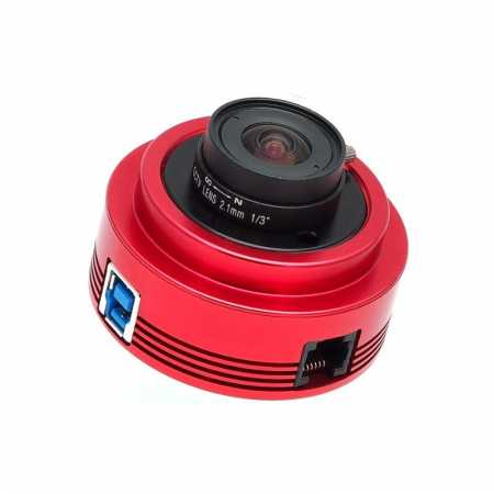 Barevná kamera ZWO ASI120MC-S USB3.0 High-speed Colour Camera - moon, planets, weather