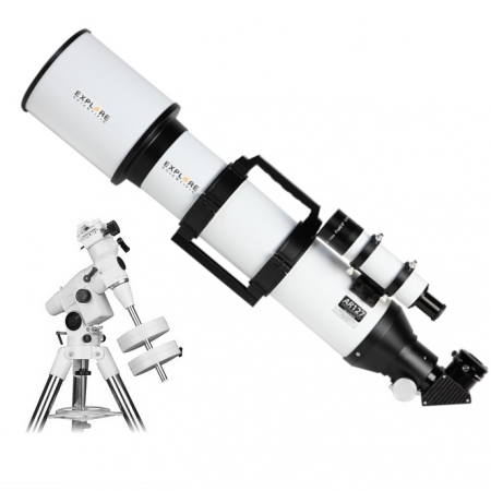 Hvězdářský dalekohled Explore Scientific AR 127/825 EQ5