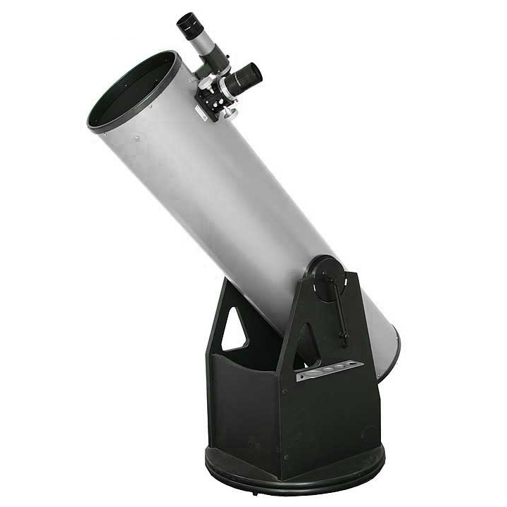 "Hvězdářský dalekohled GSO N 250/1250 Crayford 2"" Dobson + okulár Super Ploessl 25mm + redukce 2""/1.25"""