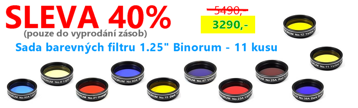 Sada barevných filtrů 1.25