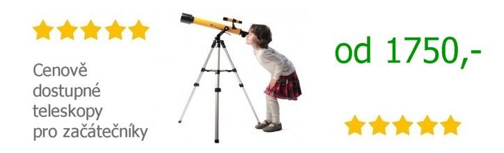 Hvězdářské dalekohledy pro začátečníky